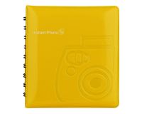 Fuji Instax Mini photo album yellow