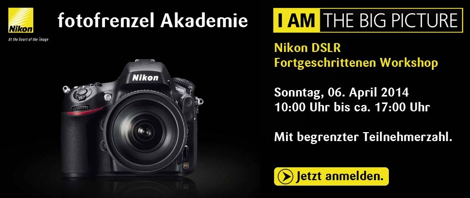 Nikon DSLR Fortgeschrittenen Workshop